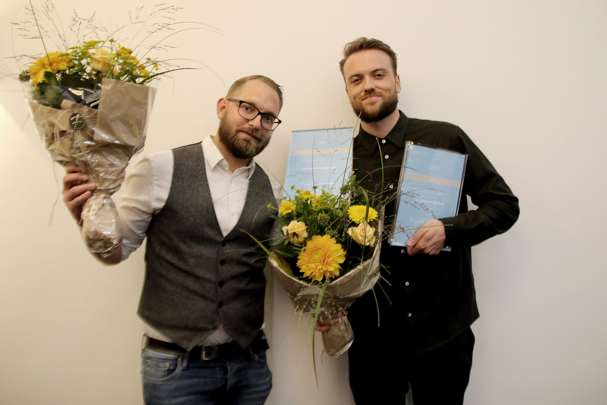 Danni Paulsen og Jonas Wrede Hansen, Lokalavisen Aarhus