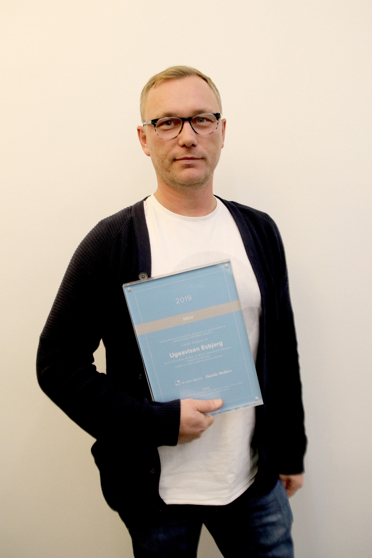 Jan Maass Lindhardt, Ugeavisen Esbjerg