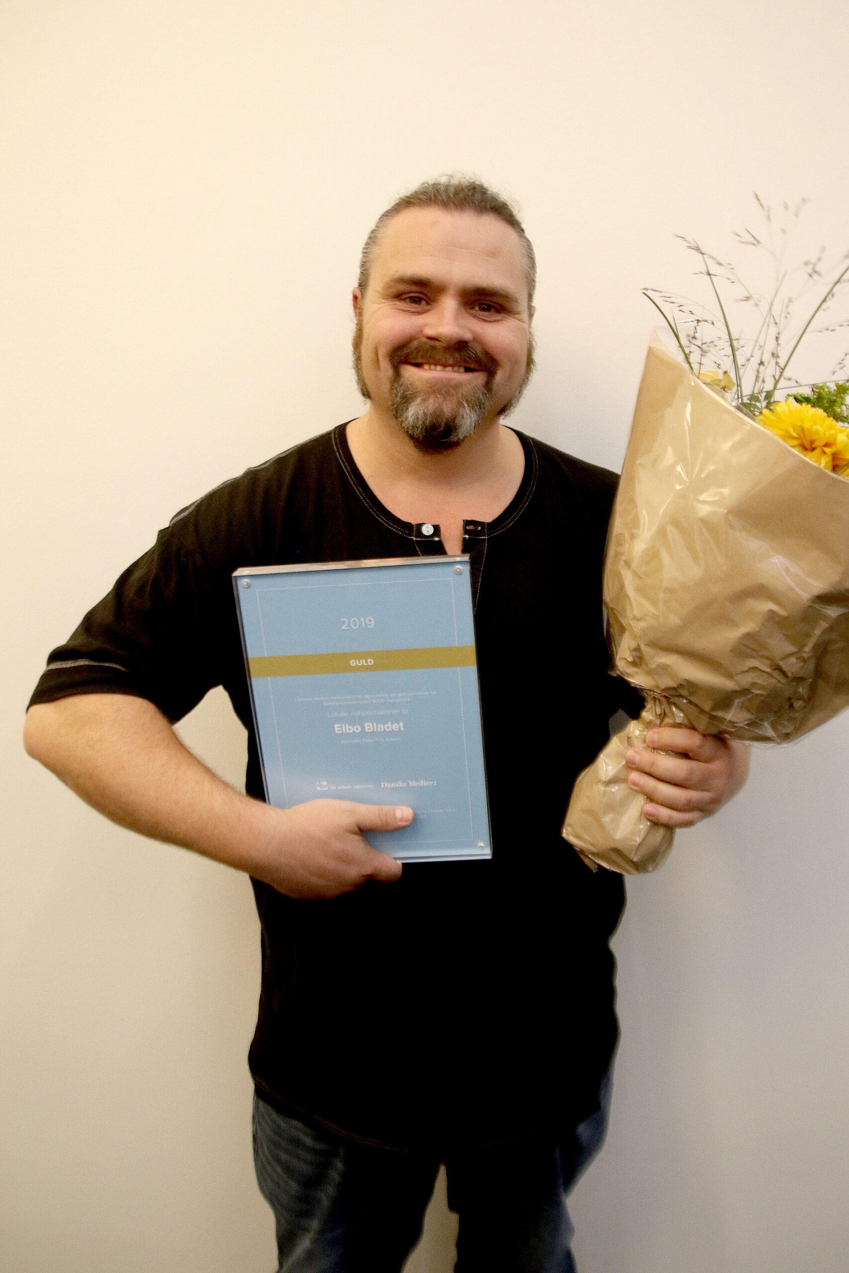 Peter Friis Autzen, Elbo Bladet