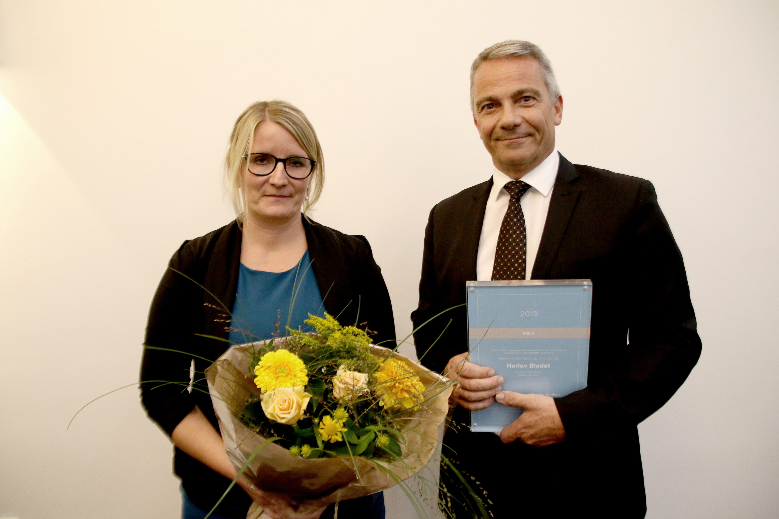 Mette Lyhne og Steffen Glaas, Herlev Bladet