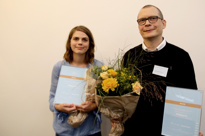 Signe Haahr Pedersen og Jesper Bjørn Larsen, Villabyerne