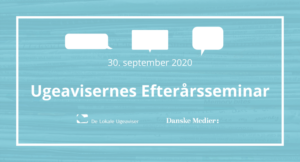 Ugeavisernes Efterårsseminar 2020