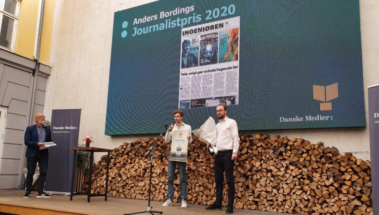 Journalistpris Anders Bording Danske Medier