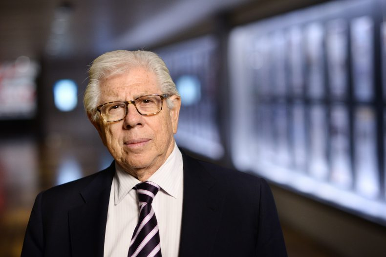 Stony Brook University; Carl Bernstein at the Newseum in DC